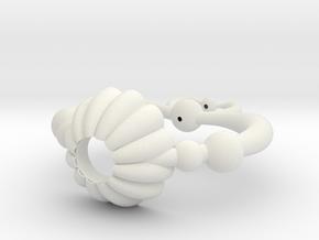 Pluto Heart Prop in White Natural Versatile Plastic
