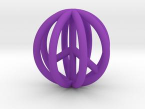 World Peace Pendant $15-$100 in Purple Processed Versatile Plastic