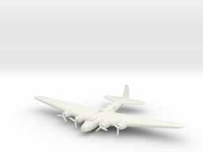 Boeing XB-15 1/285 6mm in White Natural Versatile Plastic
