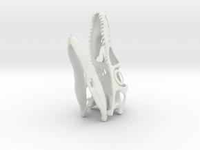 1:1 Utahraptor skull in White Natural Versatile Plastic