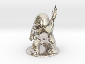 Dralasite Miniature in Rhodium Plated Brass: 1:60.96