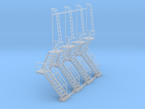 NYC - OW, HS & DV Towers - Stair (4X) in Smooth Fine Detail Plastic