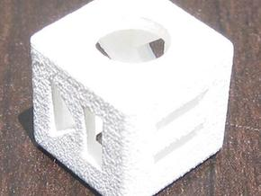 Shuffle Die in White Natural Versatile Plastic