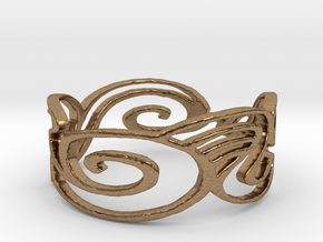 Ring Design Ring Size 6.25 in Natural Brass