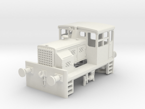 Plymouth diesel switcher in White Natural Versatile Plastic