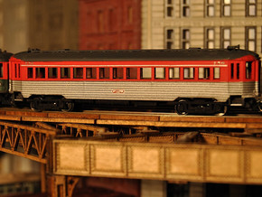 CNSM 741 - 776 Silverliner series coach in Frosted Ultra Detail