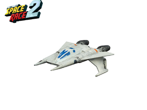 Space Race - #3 - Starfighter in Smooth Fine Detail Plastic