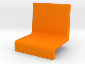 Small armchair for grandstand in Orange Strong & Flexible Polished