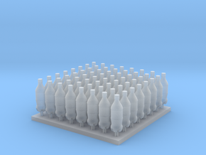 1/35 and 1/16 Modern Soda Bottles MSP35-047 in Smooth Fine Detail Plastic: 1:35