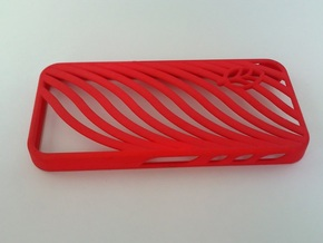 wavy case in Red Processed Versatile Plastic