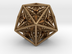 Super Icosahedron in Natural Brass