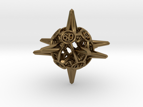 Crowns D10-0 in Polished Bronze