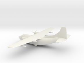 Fairchild C-123 Provider / Chase XC-123A in White Natural Versatile Plastic: 1:200