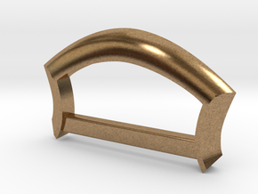 """Strap Anchor - 1"""" strap in Natural Brass"""