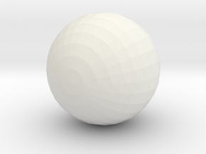 Ball in White Strong & Flexible: Small