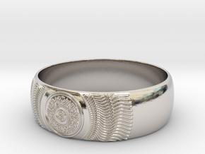 Martha - Ring in Platinum: 7.25 / 54.625