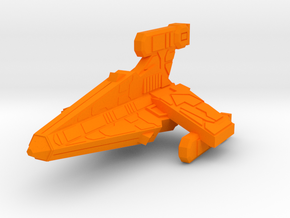 Thorlian Y7 Patrol Cruiser in Orange Processed Versatile Plastic