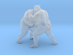Japanese Sumo 018 in Smooth Fine Detail Plastic: 1:40