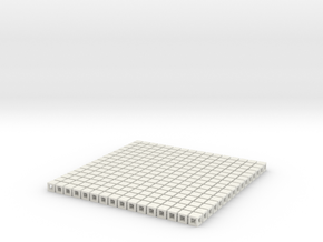 Digi Fabric Rubber in White Natural Versatile Plastic