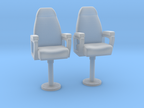 1/24 USN Capt Chair Set in Frosted Ultra Detail