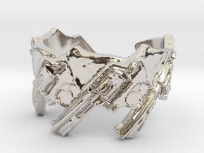Model 5- 357 44 500 Magnum Revolvers, Ring Size 8 in Platinum
