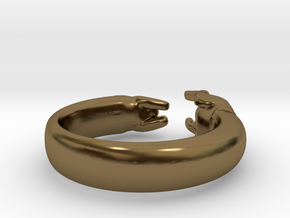 Chasing One's Own Tail in Polished Bronze: 4 / 46.5