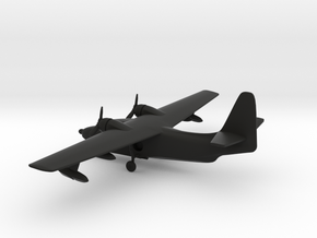 Grumman HU-16 Albatross in Black Strong & Flexible: 1:285 - 6mm