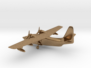 Grumman HU-16 Albatross in Natural Brass: 1:285 - 6mm