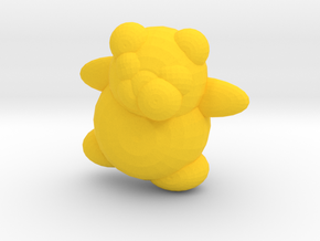 HoneyBerry Teddy Bear in Yellow Strong & Flexible Polished