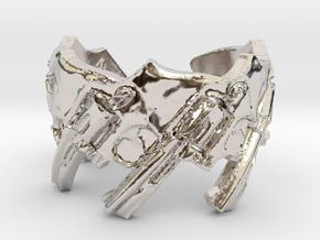 Model 5-357 44 500 Magnum Revolvers, Ring Size 6 in Platinum