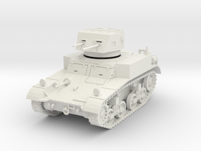PV14 M1 Combat Car (1/48) in White Natural Versatile Plastic