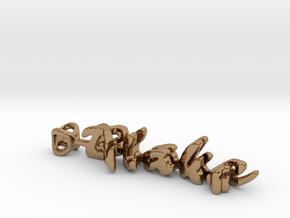 Twine Blake/Lizet in Polished Brass