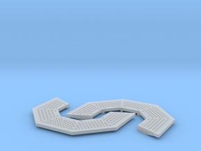 1/96 scale Gun Mount Platform - Ver 1 in Smooth Fine Detail Plastic