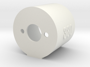 Motor Mount 380 - Version 2 in White Strong & Flexible