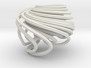 Hadley Strange Attractor  in White Strong & Flexible