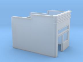 N-Scale Buddy's Waffle Shop Shell in Smooth Fine Detail Plastic