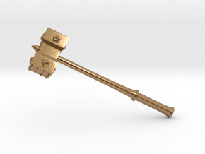 Hammer Stonetowers in Natural Brass: Large
