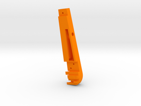 F2D Handle Cover - Morten Friis Nielse in Orange Strong & Flexible Polished