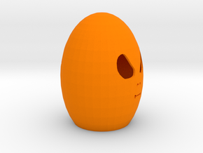 Easter Aliens Egg in Orange Processed Versatile Plastic