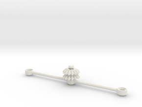 2LegoOrNot2Lego steering set in White Natural Versatile Plastic