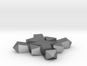 CROSS / CRUZ in Polished Silver