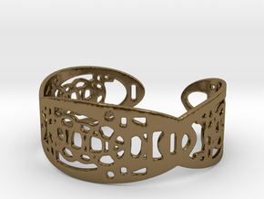 UI9 Design Bracelet 5,8 cm in Polished Bronze