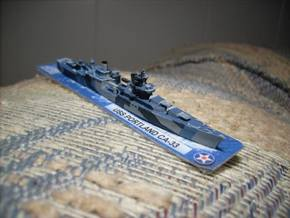 USS Portland 1/1800 in White Natural Versatile Plastic