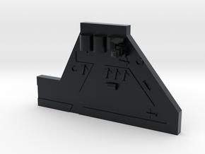 Forward Airbase in Black Hi-Def Acrylate