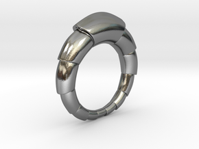 Mats - Ring in Polished Silver: 6 / 51.5