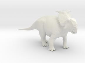 Pachyrhinosaurus canadensis - 1/72 in White Natural Versatile Plastic