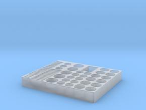 Batteri Holder in Smooth Fine Detail Plastic