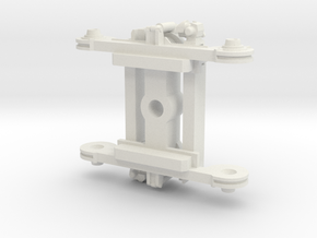 Tram 805Na Bogie H0m in White Natural Versatile Plastic