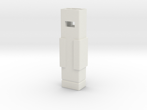 Modular Tool Grip 2 Buttons in White Natural Versatile Plastic