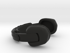 Headset Rallye Type - 1/10 in Black Natural Versatile Plastic
